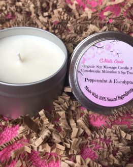 Pepermint & Eucalyptus Scented Candle