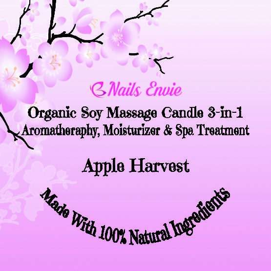 Apple Harvest scented candles